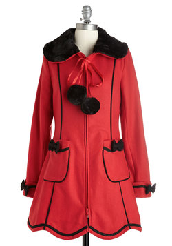 Bow-ing Places Coat