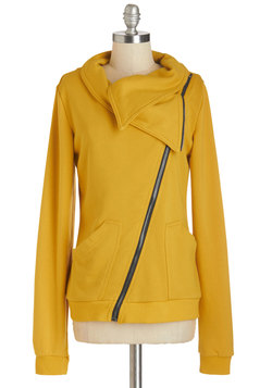 Brunch on the Patio Jacket in Goldenrod