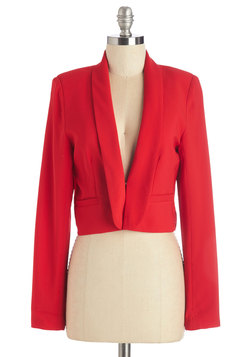 By Innovation Only Blazer in Red