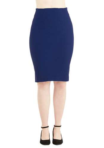I'll Have the Usual Skirt in Royal Blue