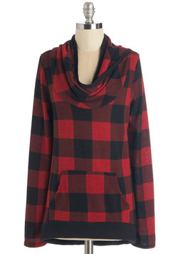 The Good, the Plaid, and the Snuggly Top