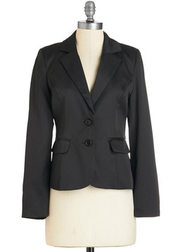 Feelin' In Charge Blazer in Black