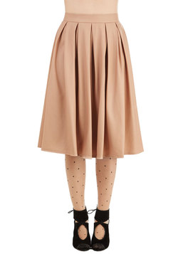 Neutral All Along Skirt