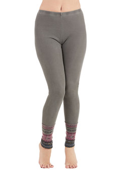 Camping Accoutrement Leggings in Stone
