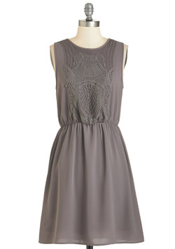 Estate to Remember Dress in Grey