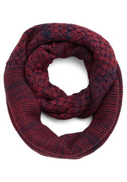 Wrapped Up in Warmth Circle Scarf