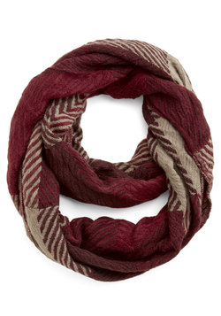 Cozy Carriage Ride Circle Scarf