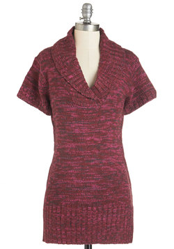 Time Away Tunic in Sangria
