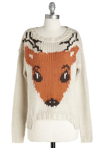 If I Could, I Woodland Sweater