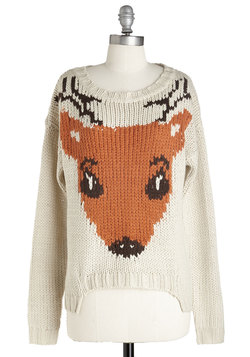 If I Could, I Woodland Sweater