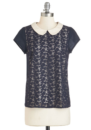 Bakery Bash Top in Navy