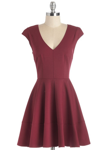 Curtsy for Yourself Dress in Red