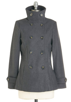 The Best of Timeless Coat in Charcoal