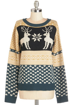 Snowflake it to Heart Sweater