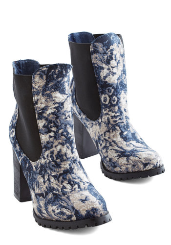 Ten Out of Botanical Bootie