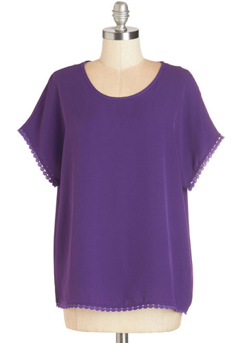 Trimmed in Whimsy Top