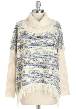 Fringed Effervescence Sweater