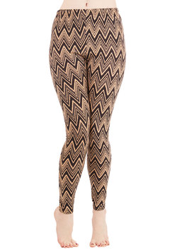 Chevron Comfort Leggings