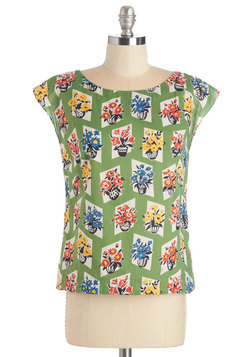 Whimsy and Wonder Top in Floral