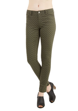 Morning, Noon, and Night Pants in Olive