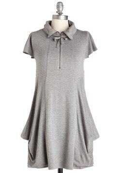 Fresh Flow Dress in Grey