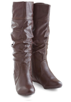 Toffee Date Boot in Chocolate