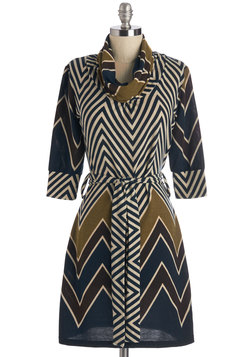 Always Chevron My Mind Dress