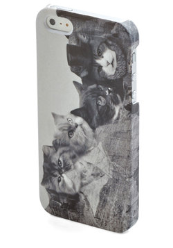 Meow-nt Rushmore iPhone 5/5s Case