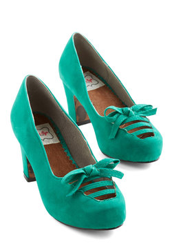 Revive Got an Idea Heel in Aqua