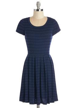 Today We Stripe Dress in Navy