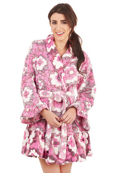 Cuddled Up in Cute Robe