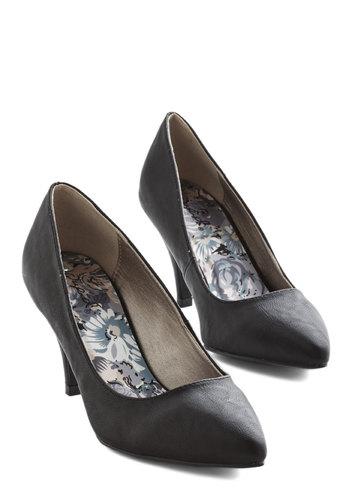 Dependably Darling Heel in Black