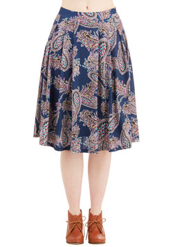 What Can I Sway? Skirt in Blue
