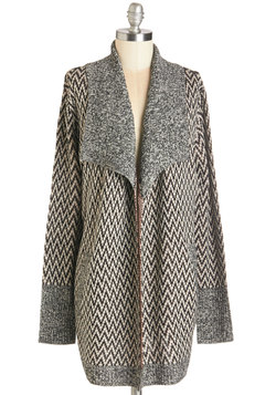 It's in the Zigzag Cardigan