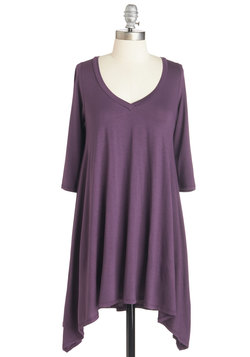 Infinitely Fabulous Tunic in Purple