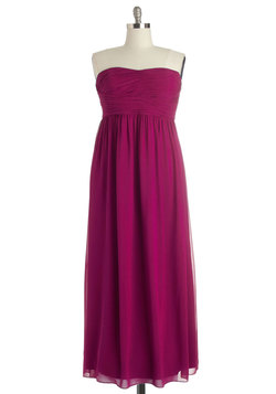 This Sway to the Party Dress in Berry - Plus Size