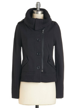Adorable Anecdote Jacket in Black