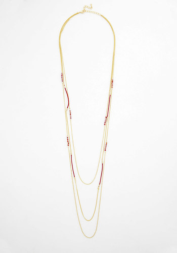 Twinkling Touch Necklace