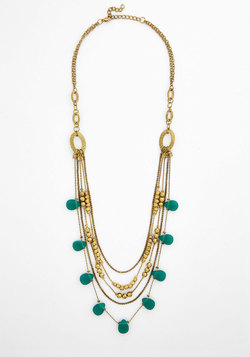 Adorn and Raised Necklace