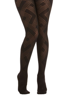 Geometric Artist Tights