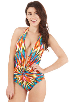 Beach Party Hostess One-Piece Swimsuit