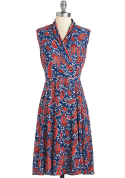 Paris? Oui! Dress in Paisley
