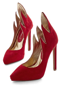 A New Flame Heel