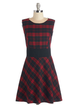 Plaid I Known Dress