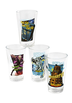 Doctor Your Dinner Party Glass Set