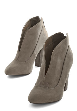 Let's Get Strolling Bootie in Taupe