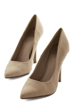 Trend All, Be All Heel in Taupe