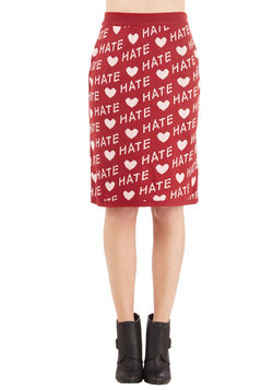 Opposite Day Declaration Skirt