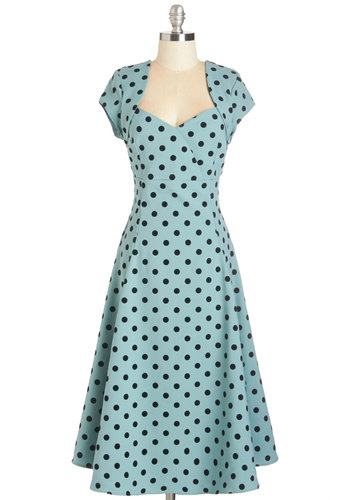 Small Business Spotlight Dress in Dots