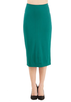 Professional Opinion Skirt in Teal